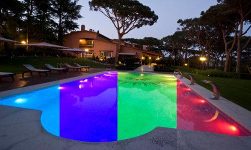 Lámparas para piscinas