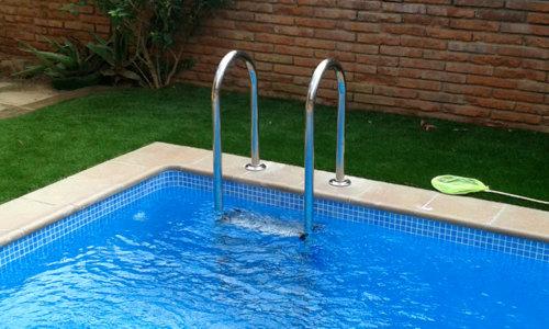 Escaleras para piscina